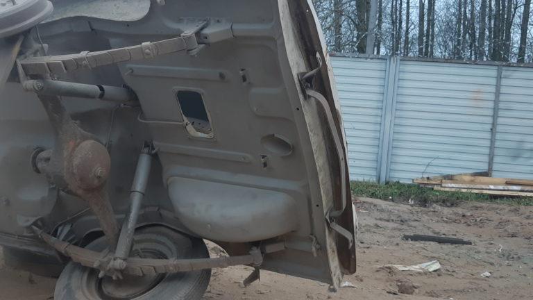 Москвич 407 пескоструйная обработка 2