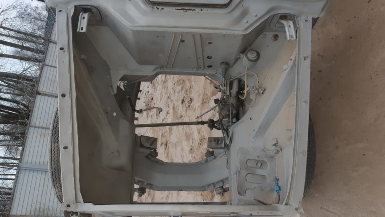 Москвич 407 пескоструйная обработка 4