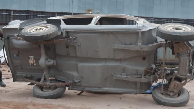 Москвич 407 пескоструйная обработка 3